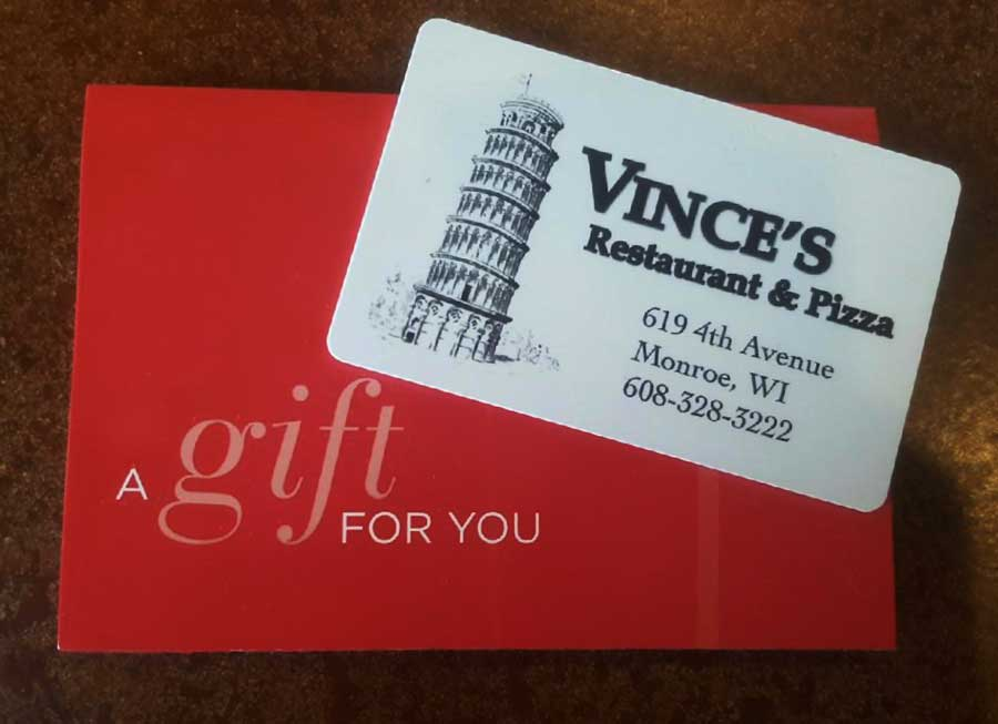 Give a Gift Card to Someone Special